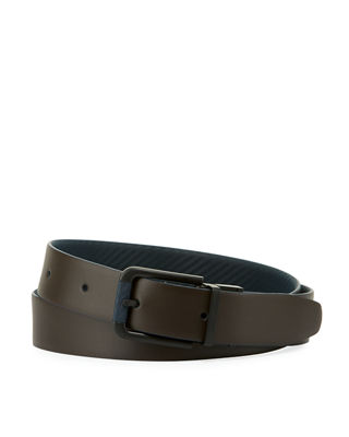 ALFRED DUNHILL REVERSIBLE CHASSIS LEATHER BELT