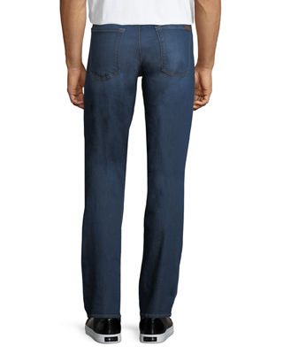 Image 2 of 3: Men's Luxe Sport: Slimmy Blue Jeans