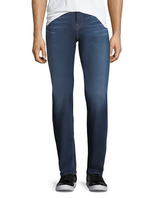 Image 1 of 3: Men's Luxe Sport: Slimmy Blue Jeans