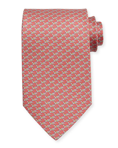 Sea Turtles Silk Tie
