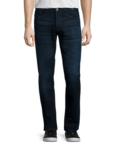 3x1 M3 Slim-Straight Lunar Clean Denim Jeans