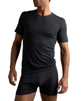 Image 1 of 2: Woolen Silk T-Shirt