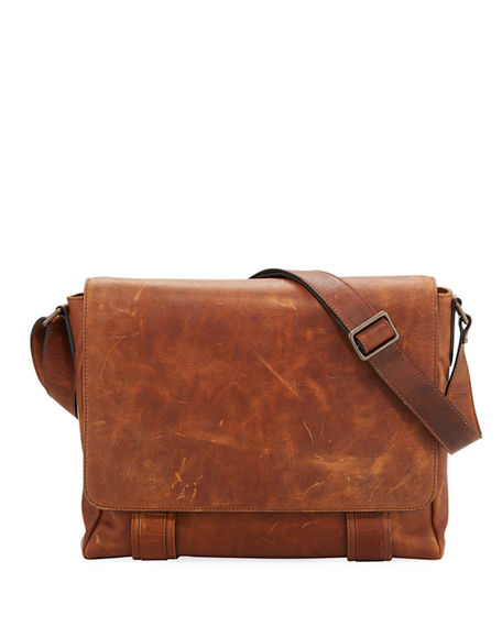 Image 1 of 3: Frye Logan Flap Messenger Bag