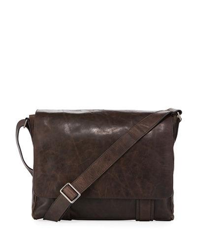 Frye Logan Flap Messenger Bag