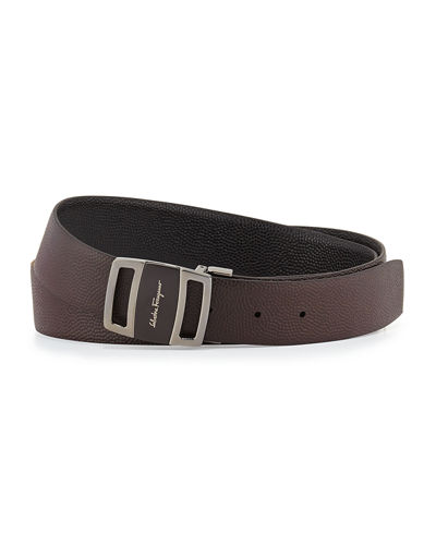 Salvatore Ferragamo Reversible Vara-Buckle Belt