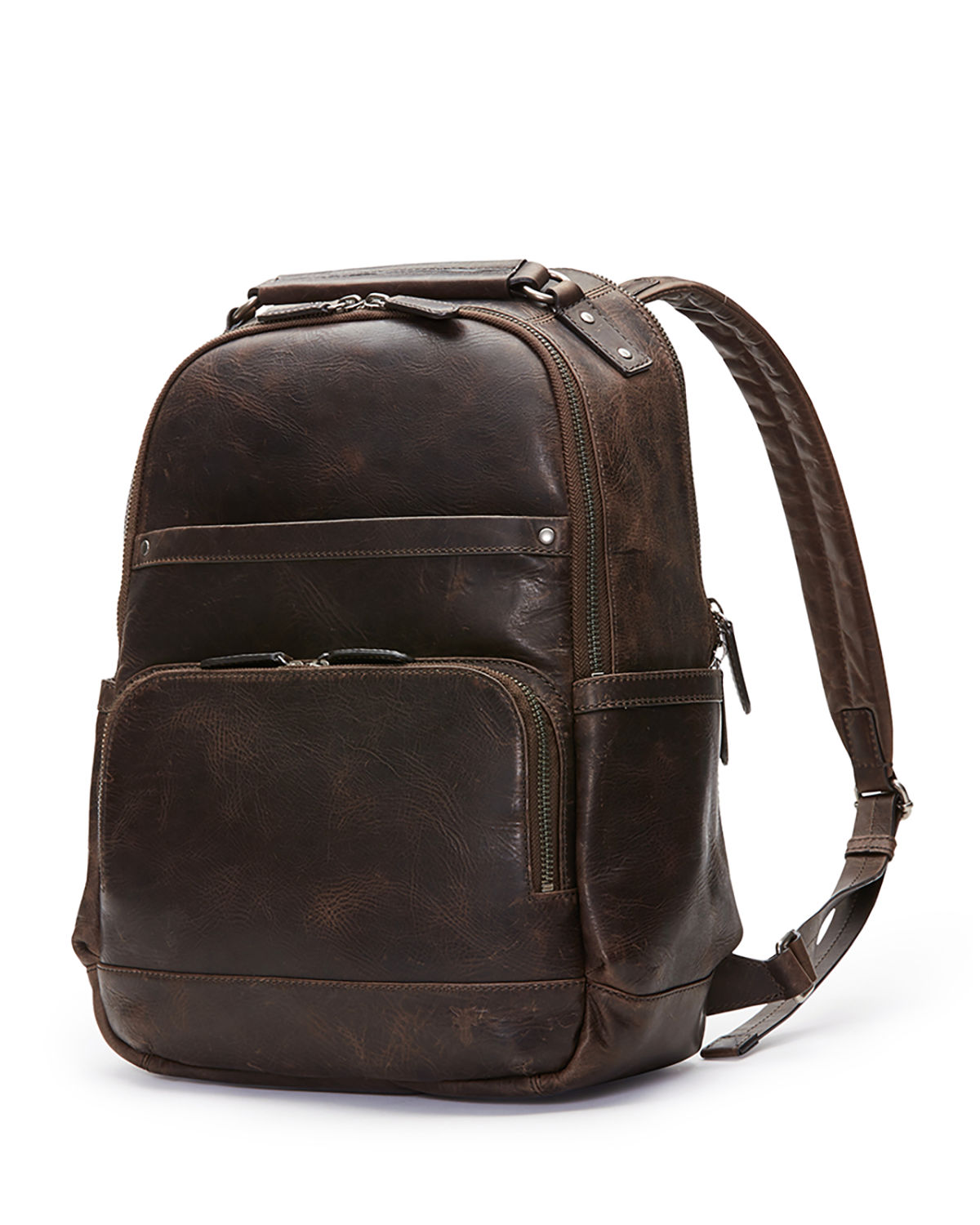 e2760a771a62f Frye Logan Men's Leather Backpack | Neiman Marcus