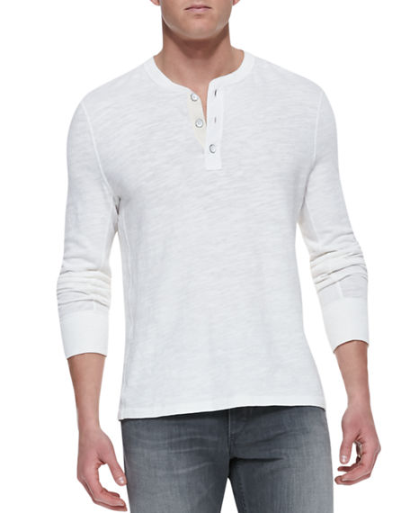 Cotton-jersey Henley T-shirt Rag & Bone Cheap Sale Geniue Stockist Buy Cheap With Mastercard Clearance Factory Outlet t48wcm