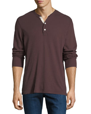 Men's Standard Issue Slub-Knit Basic Henley