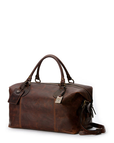 Frye Logan Men's Leather Overnight Bag