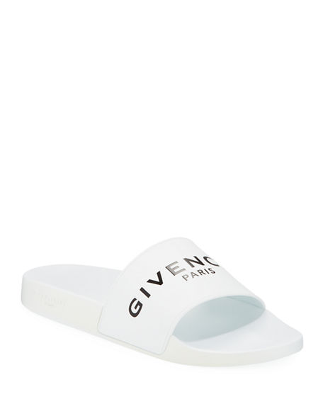 Givenchy Men's Logo Pool Slide Sandals