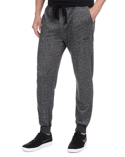 Terry Cotton-Blend Sweatpants