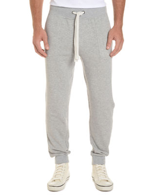 Image 1 of 3: Terry Cotton-Blend Sweatpants