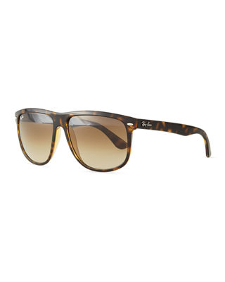 'Boyfriend' 60Mm Polarized Sunglasses - Light Havana/ Brown P in Tortoise