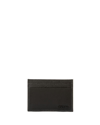 Nylon/Leather Card Case