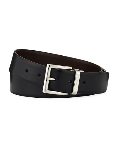 Prada Vitello Luxe Reversible Belt