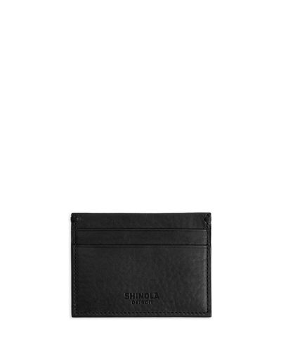 Men's Five-Pocket Leather Card Case