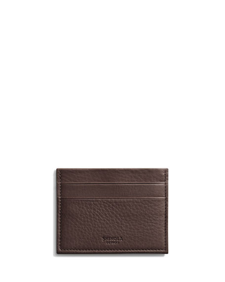 Shinola Five-Pocket Leather Card Case