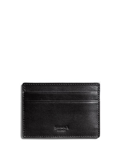 Shinola Men's Six-Pocket Leather Card Case
