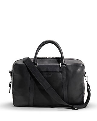 Image 1 of 4: Slim Leather Briefcase