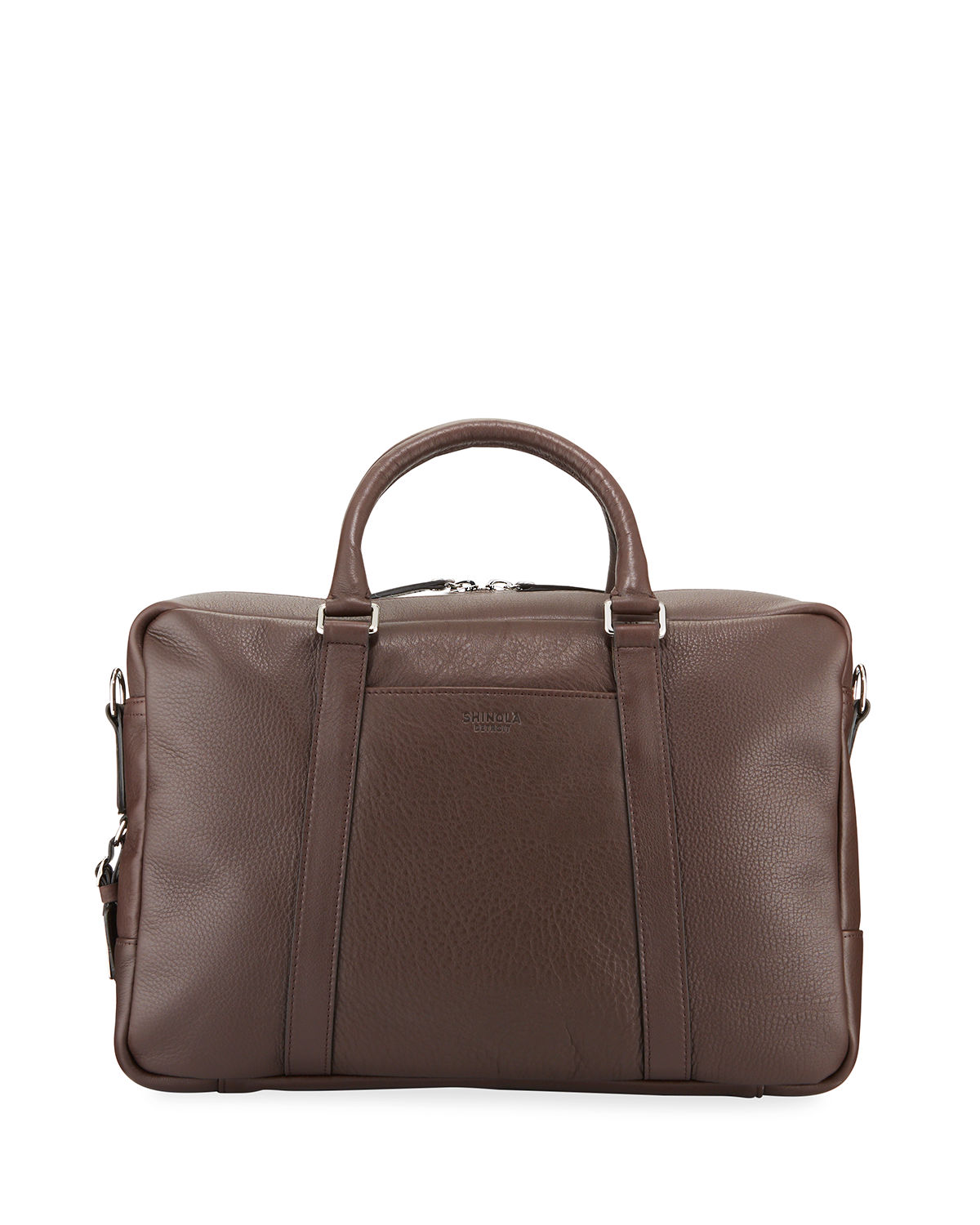 dfcb3c44cd5 Shinola Men s Slim Leather Briefcase