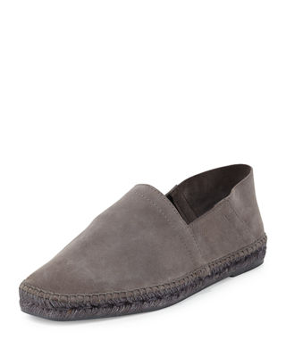 Image 1 of 4: Suede Slip-On Espadrille