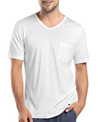 Hanro Night & Day Short-Sleeve T-Shirt W/Pocket