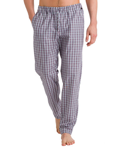 Hanro Night & Day Check Lounge Pants