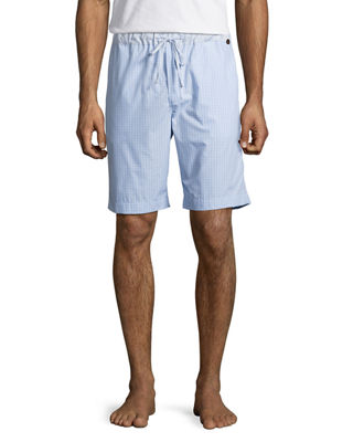 Image 1 of 3: Night & Day Check Lounge Shorts
