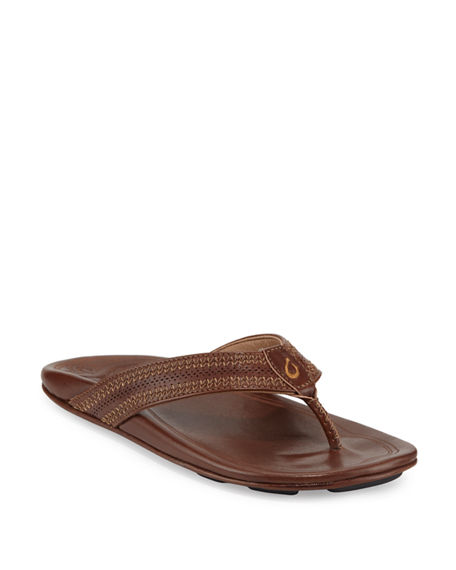 Po'okela Leather Thong Sandal