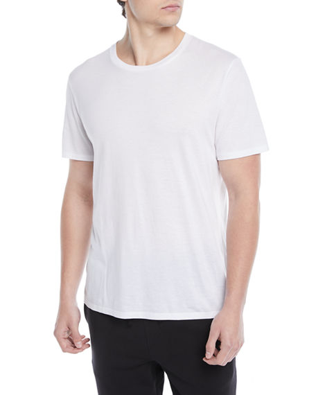 Vince Men's Short-Sleeve Pima Crewneck Jersey T-Shirt