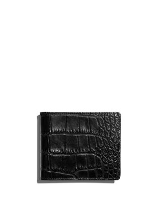 Shinola Men's Alligator Classic Bifold Wallet