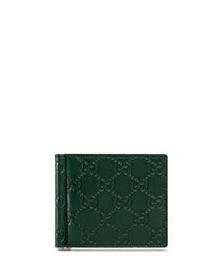Gucci Signature Leather Money Clip