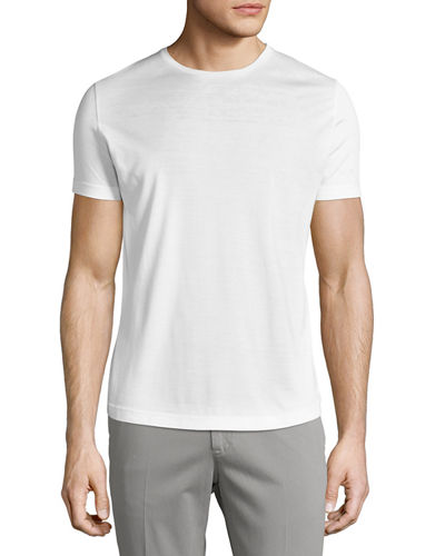 Silk & Cotton Jersey T-Shirt