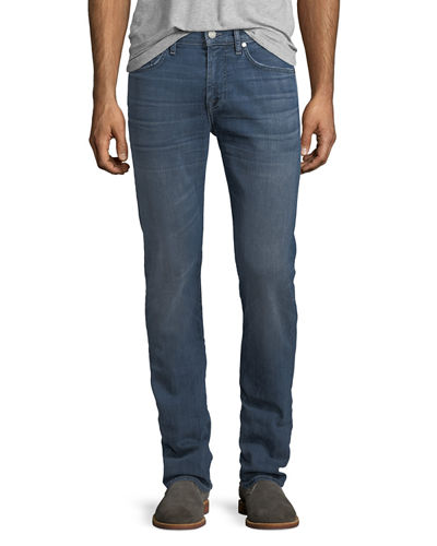Straight-Leg Airweft Denim Jeans