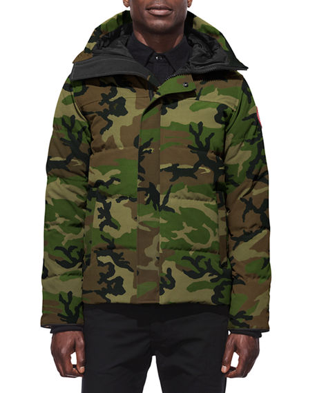 de10dfc6e9a89 Canada Goose Macmillan Slim-Fit Camouflage-Print Quilted Shell Hooded Down  Parka - Green