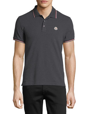 Moncler Tipped Piqu?? Polo Shirt