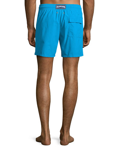 Moorea Solid Swim Trunks