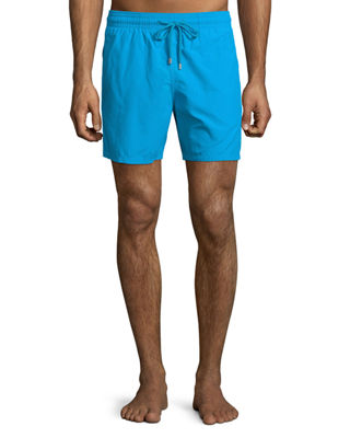 Image 1 of 3: Moorea Solid Swim Trunks