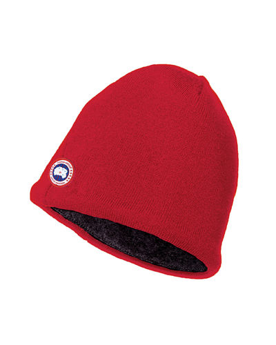 Canada Goose Merino Wool Fleece-Lined Beanie