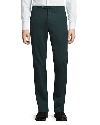 Benn Standard-Fit Stretch Cotton Pants