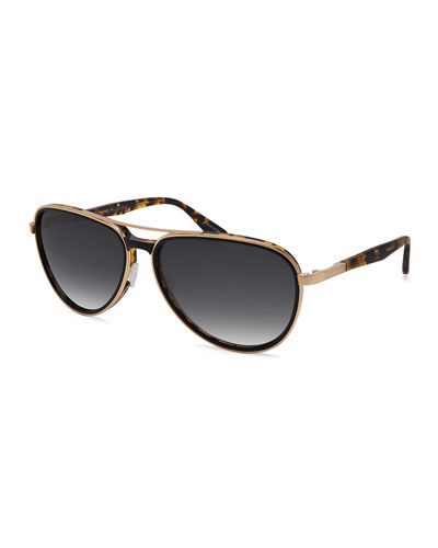 Gazarri Polarized Aviator Sunglasses