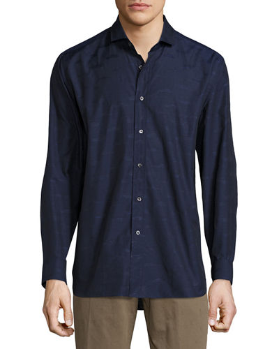 Robert Graham Strata Long-Sleeve Woven Shirt