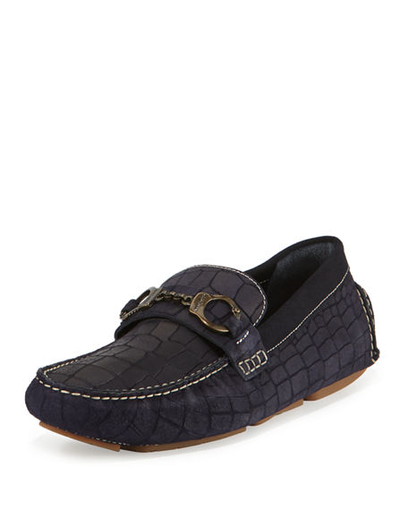 Mens Slide Shoes With Dolphin Image