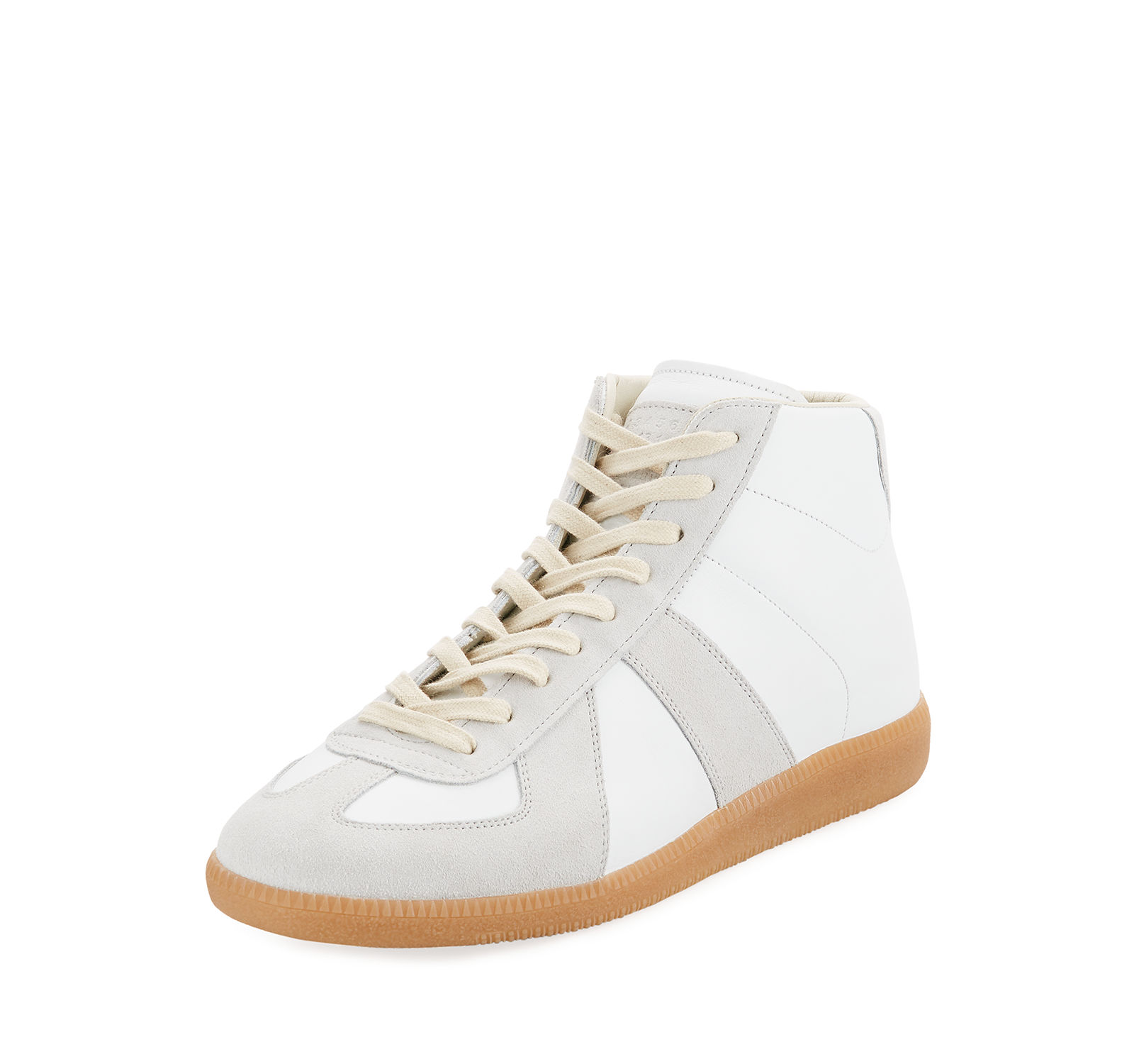 Maison Margiela Men's & Replica Mid-Top Leather & Men's Suede Sneakers b010da