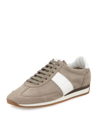 Image 1 of 5: Orford Suede Trainer Sneaker