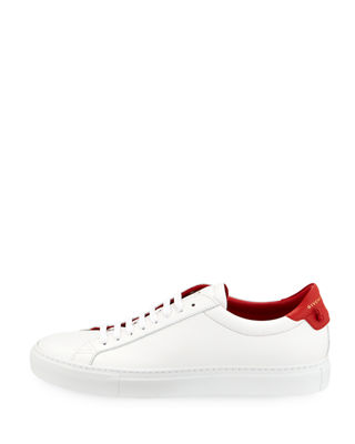 Image 3 of 3: Urban Street Leather Low-Top Sneaker