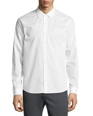Classic-Fit Button-Front Shirt