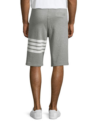 Image 2 of 3: Classic Striped-Leg Sweat Shorts