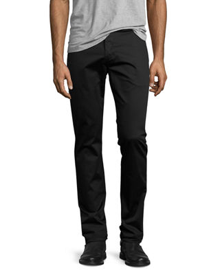 J Brand Men's Brooks Slim Sateen Trousers