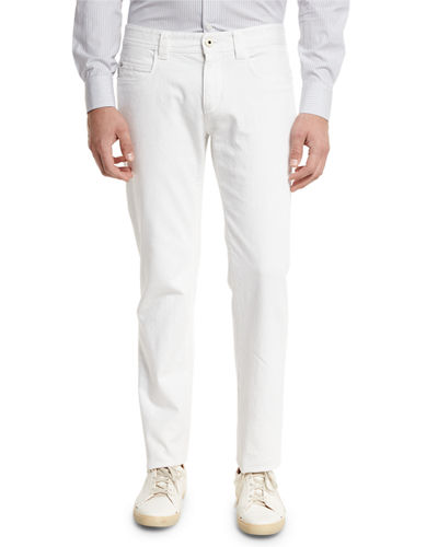 Loro Piana Tasche 5-Pocket Slim-Fit Denim Jeans and